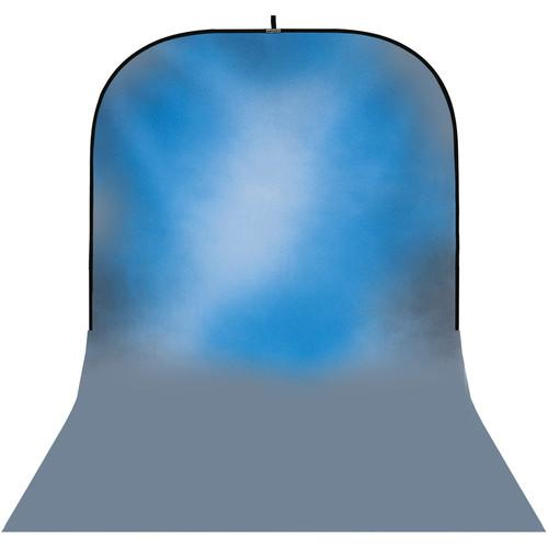Botero #045 Super Collapsible Background (8x16', Blue) SC045816