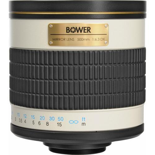 Bower 500mm f/6.3 Manual Focus Telephoto Lens for Sony/Minolta