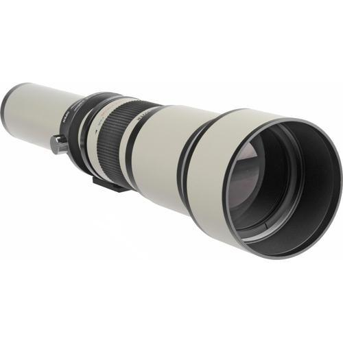 Bower 650-1300mm f/8-16 Manual Focus Lens for Canon EOS