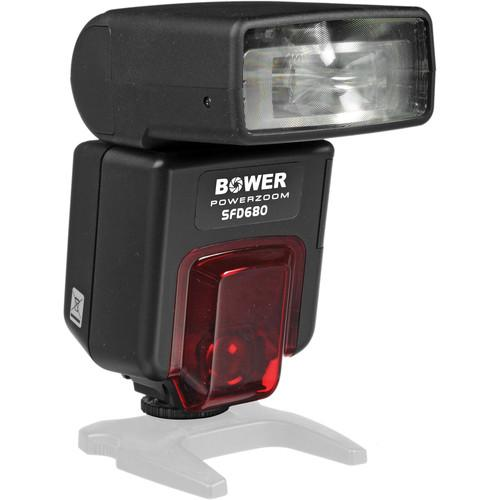 Bower SFD680 Power Zoom Digital TTL Flash for Canon SFD680C