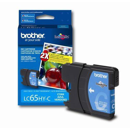 Brother LC65HYC Innobella High-Yield Cyan Ink Cartridge LC65HYC