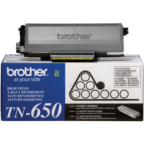 Brother  TN650 High Yield Toner (Black) TN650