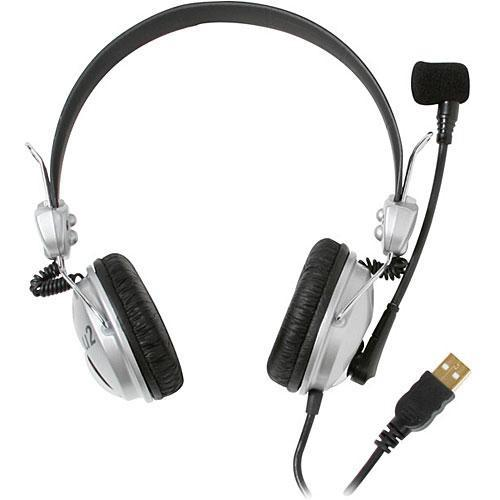 CAD U2 - USB Stereo Headphones with Condenser Microphone U2