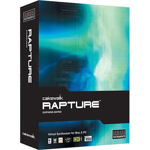 Cakewalk Rapture - Virtual Synthesizer - 10-CWRP1.00-90CL