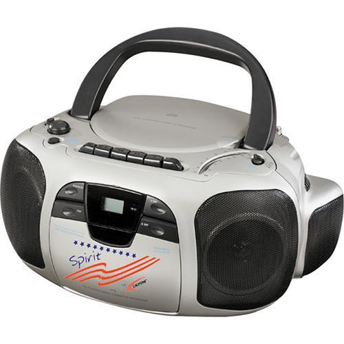 Califone  Spirit CD/Cassette/Radio Boom Box 1776
