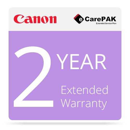 Canon 2-Year Extended Warranty (Care-Pak) For Canon 1708B042
