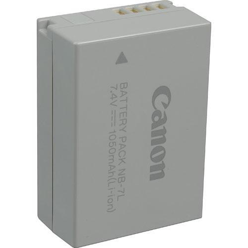 Canon NB-7L Lithium-Ion Battery Pack (7.4V, 1050mAh) 3153B001