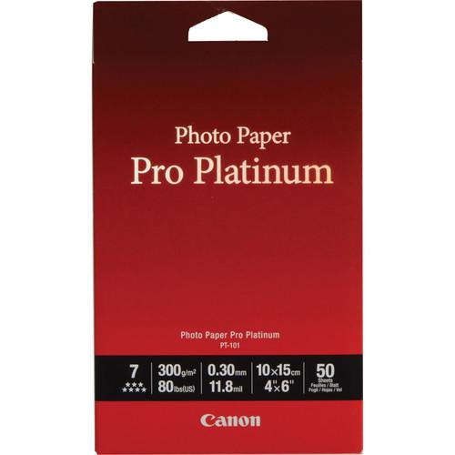 Canon Pro Platinum Photo Paper 4 x 6