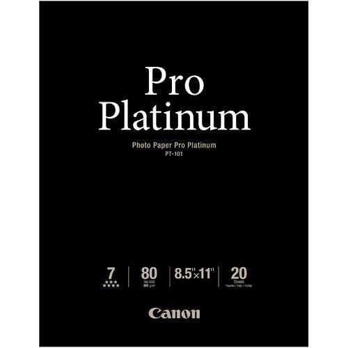 Canon Pro Platinum Photo Paper 8.5 x 11