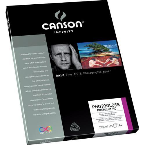 Canson Infinity PhotoGloss Premium Resin Coated Paper 206231001