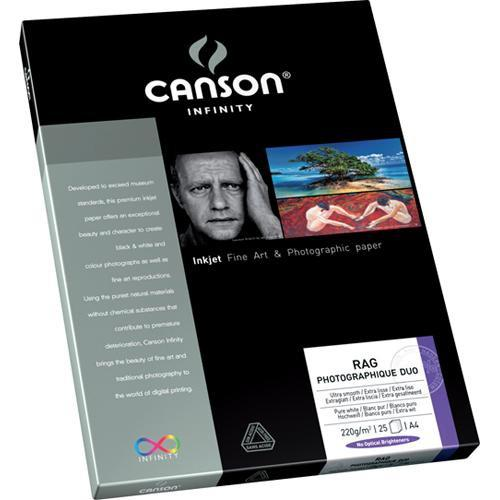 Canson Infinity Rag Photographique Duo Paper 206211011