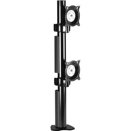 Chief KTC230B Dual Desk Clamp Flat Panel Mount (Black) KTC230B