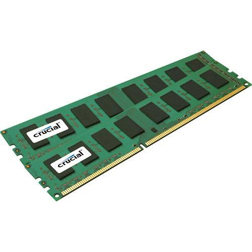 Crucial 4GB (2x2GB) DIMM Desktop Memory CT2KIT25672BA1067
