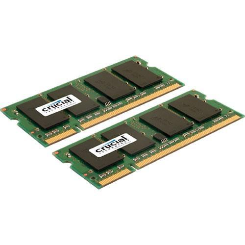Crucial 4GB (2x2GB) SO-DIMM Memory Upgrade Kit CT2KIT25664AC800