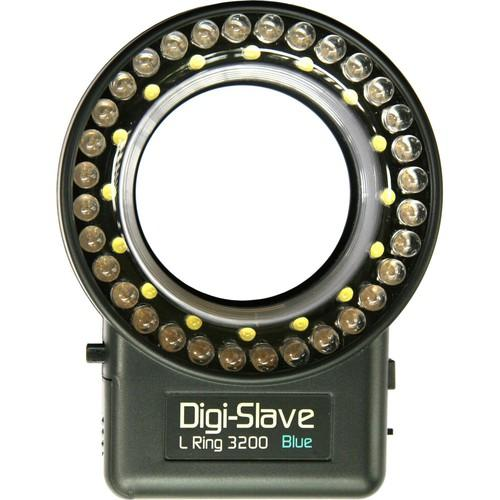 Digi-Slave L-Ring 3200 LED Ring Light (Blue) LRU3200B