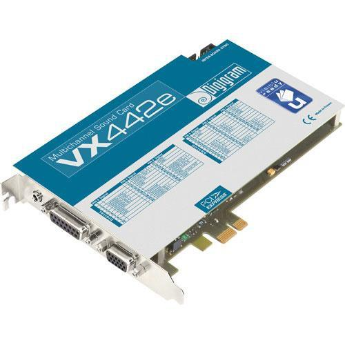 Digigram VX442e - PCIe Digital Audio Card VB1966A0201