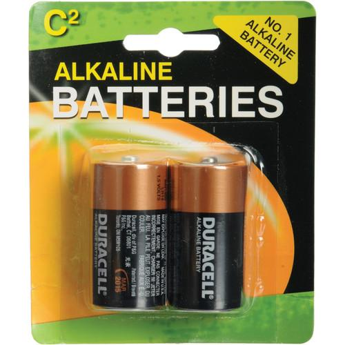 Duracell C Alkaline Coppertop Battery (1.5V, 2 Pack) MN1400B2
