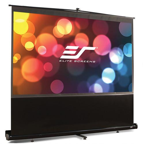 Elite Screens F120NWH ezCinema Portable Front Projection F120NWH