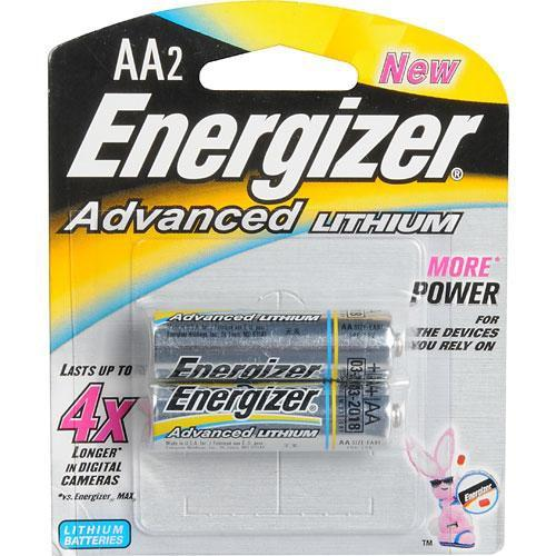Energizer Energizer AA Lithium Batteries (2 Pack) 57-EALAA2D