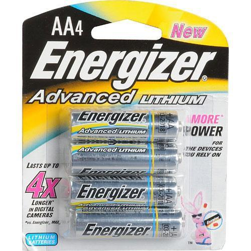 Energizer Energizer AA Lithium Batteries (4 Pack) EA91BP-4