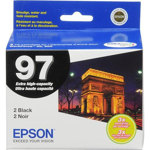 Epson T097120-D2 97 Extra-High Capacity Black Ink T097120-D2