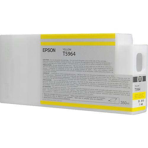 Epson T596400 Ultrachrome HDR Ink Cartridge: Yellow T596400