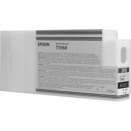Epson T596800 Ultrachrome HDR Ink Cartridge: Matte Black T596800