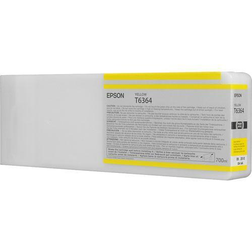 Epson T636400 Ultrachrome HDR Ink Cartridge: Yellow T636400