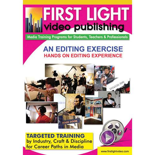 First Light Video An Editing Exercise DVD F721DVD