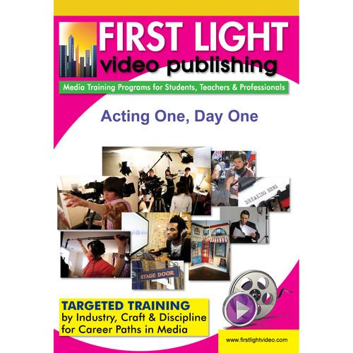 First Light Video DVD: Acting One, Day One with Robert F981DVD