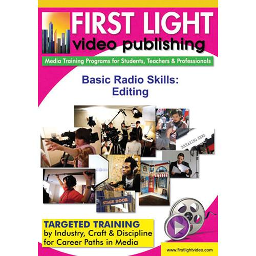 First Light Video DVD: Basic Radio Skills: Editing F770DVD