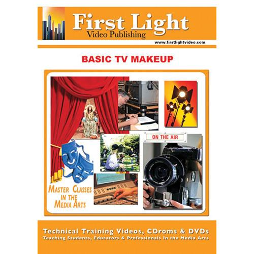 First Light Video DVD: Basic TV Makeup with Dawn Swayne F707DVD