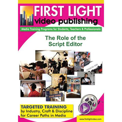 First Light Video DVD: The Role of The Assistant Editor F720DVD