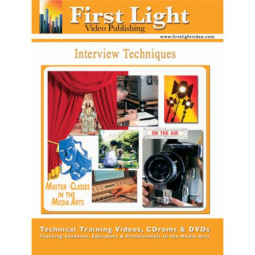 First Light Video DVD: TV Interview Techniques F781DVD