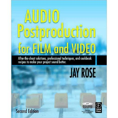 Focal Press Book/CD: Audio Post-Production 9780240809717