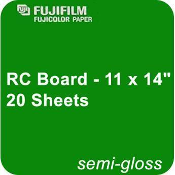 Fujifilm Semi Gloss RC Board - 11 x 14
