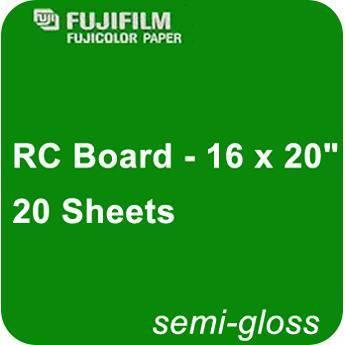 Fujifilm Semi Gloss RC Board - 16 x 20