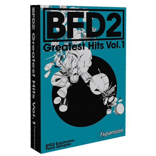 FXpansion BFD Greatest Hits Vol. 1 Expansion Pack FXGHV001