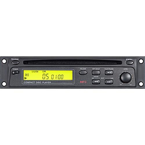Galaxy Audio RM-CD Rack Mount CD/MP3 CD Player RM-CD
