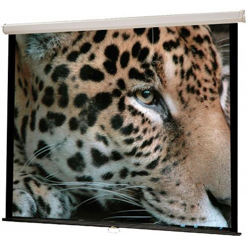 HamiltonBuhl WS-W6080 Manual Wall Front Projection WS-W6080