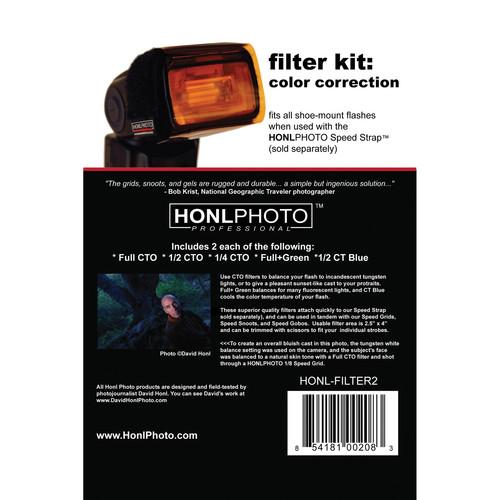 Honl Photo Color Correction Filter Kit for Honl HONL-FILTER2