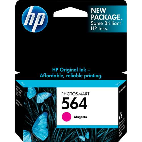 HP HP 564 Standard Magenta Ink Cartridge CB319WN#140