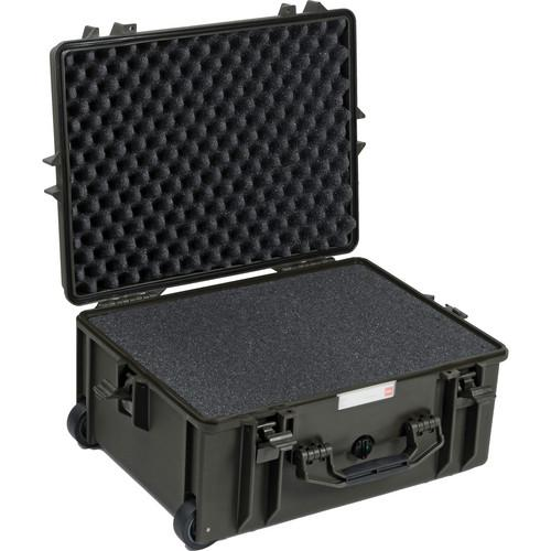 HPRC 2600 Wheeled Hard Case with Cubed Foam HPRC2600WFOLIVE