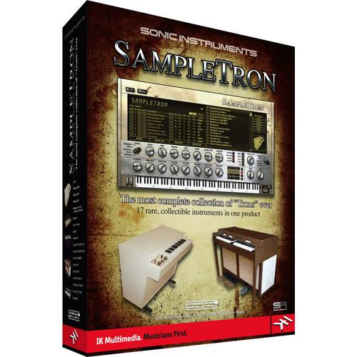 IK Multimedia SampleTron - Virtual Instrument SN-PLUG-HCD-IN