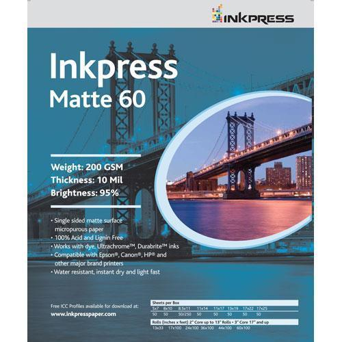 Inkpress Media Matte 60 Paper for Inkjet - 11x17 PP60111750