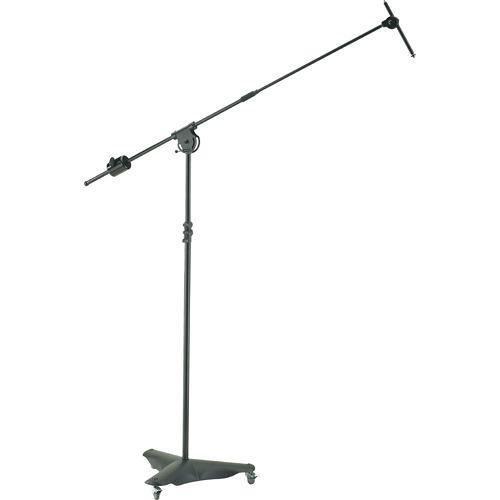 K&M 21430 Mobile Overhead Microphone Stand 21430-500-55