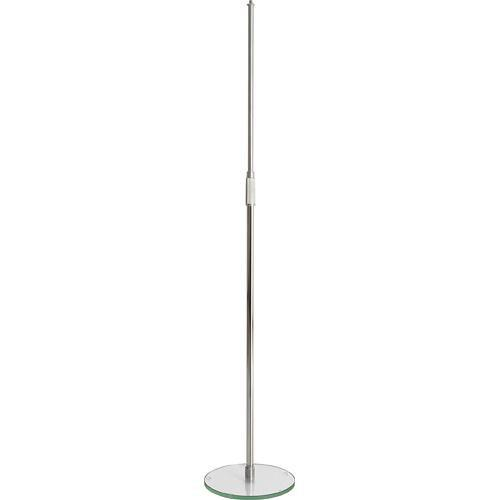 K&M 26150 Microphone Stand with Glass Base 26150-500-02