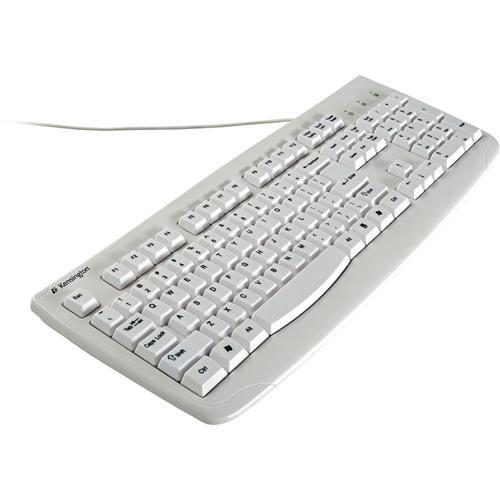 Kensington Washable USB Keyboard with Antimicrobial K64406US