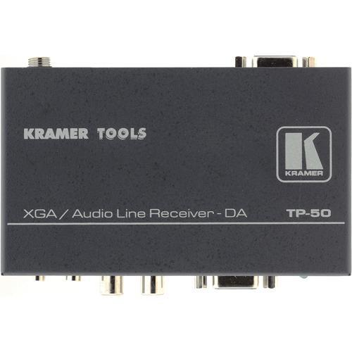 Kramer TP-50 1:2 XGA and Audio Receiver and Distribution TP-50