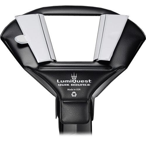 LumiQuest Quik Bounce Light Modifier for Shoe Mount LQ-122
